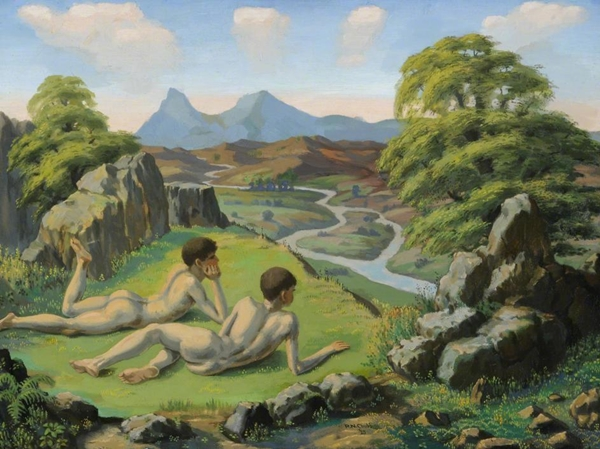 gay_arts_ralph-chubb-the-enchanted-valley-1925