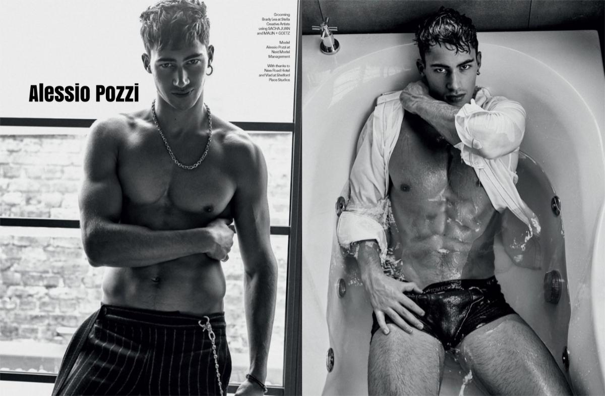 Alessio Pozzi coverMan