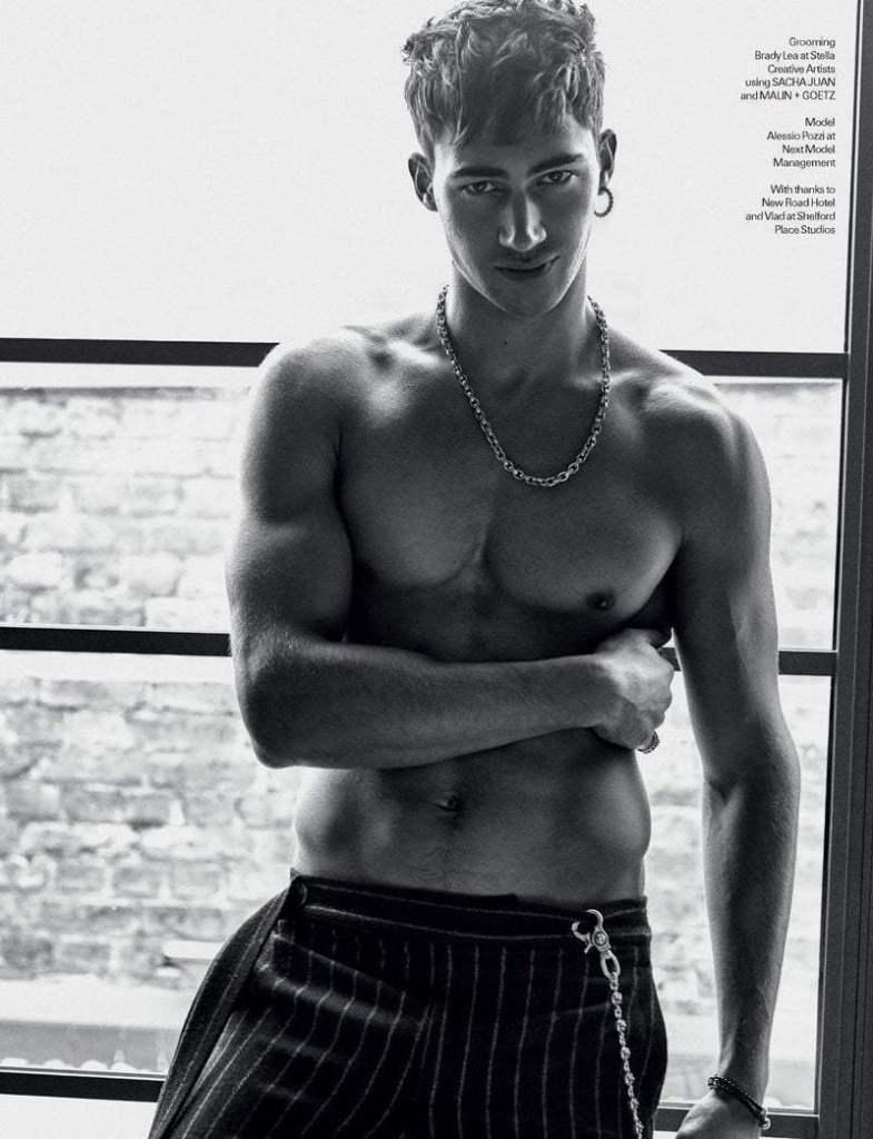 Alessio Pozzi - hot male photo model from Italy