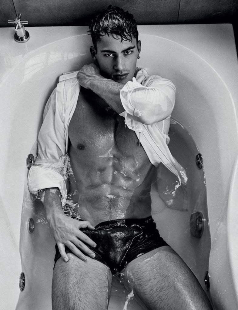 Alessio Pozzi - having a bath photo