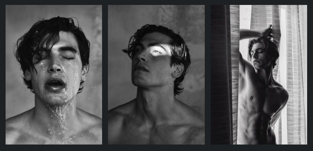 Marco Bellotti by Pasquale Autorino in Black &White